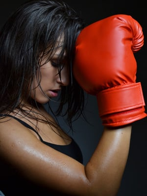 fat burning workout boxing
