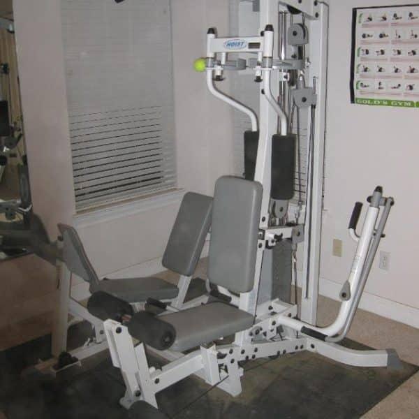 Used Hoist Gym: Hoist 310 Home Gym With Leg Press USED
