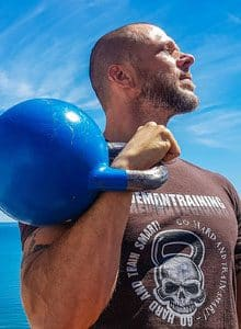 Kettlebell one arm row featured