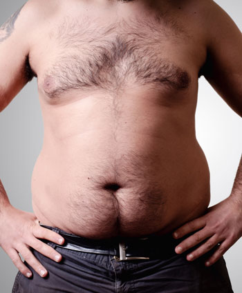 normal weight obesity man