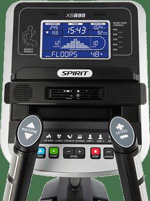 Spirit Fitness XS895 Stepper Console