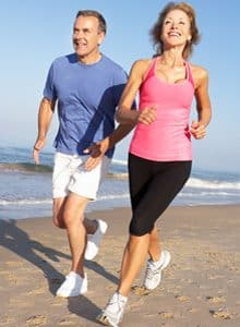 spring exercise ideas beach run