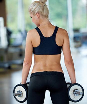 strength training intro woman