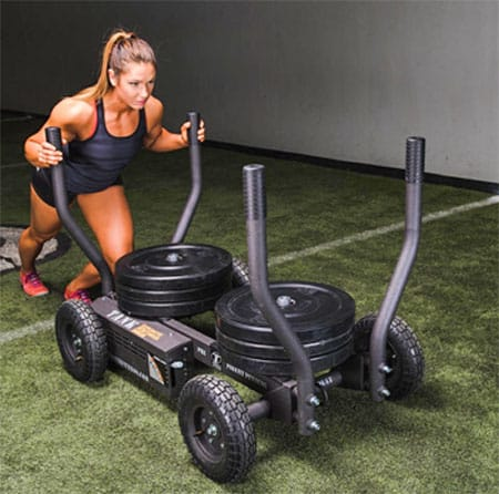 Tank M2 Fitness Sled woman