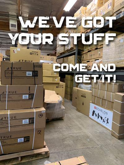 we've got your stuff