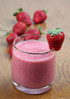 workout foods protein shake