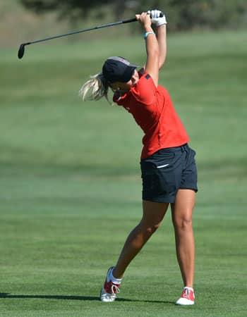 workout habit woman playing golf